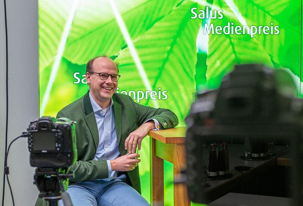 Salus - Medienpreis 2020: Geschäftsführer Dr. Florian Block