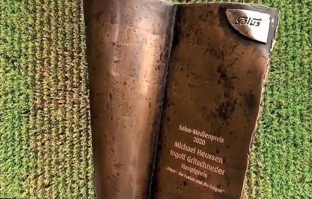 Salus Medienpreis 2020: Hauptpreis Michael Heussen & Ingolf Gritschneder