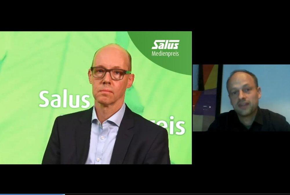 Leiter Nachhaltigkeitsmanagement Christoph Hofstetter mit Jury