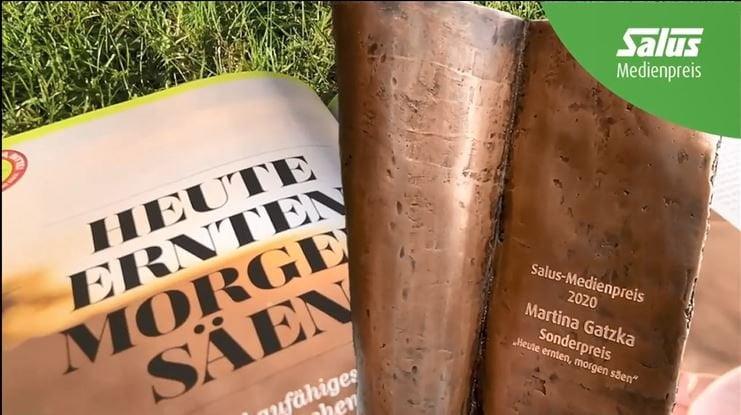 Salus Medienpreis 2020: Sonderpreis Martina Gatzka