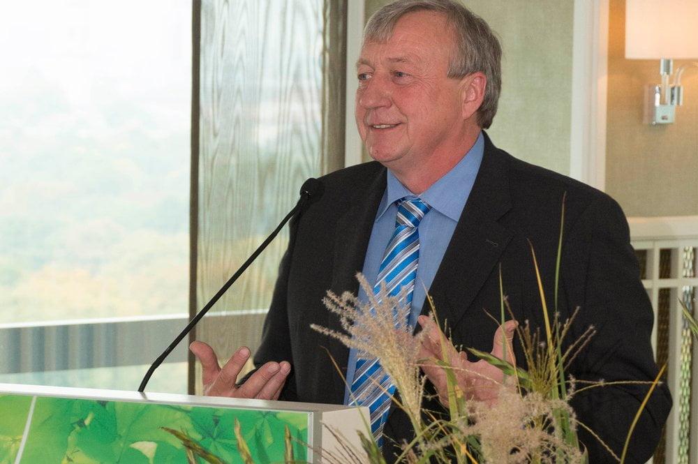 Landwirt Hans Hohenester, Präsidiumsvorsitzende des Naturlandverbandes e.V.