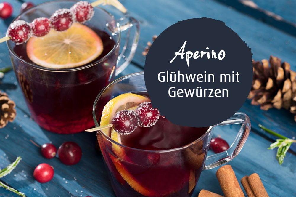 Aperino Glühwein mit Gewürzen