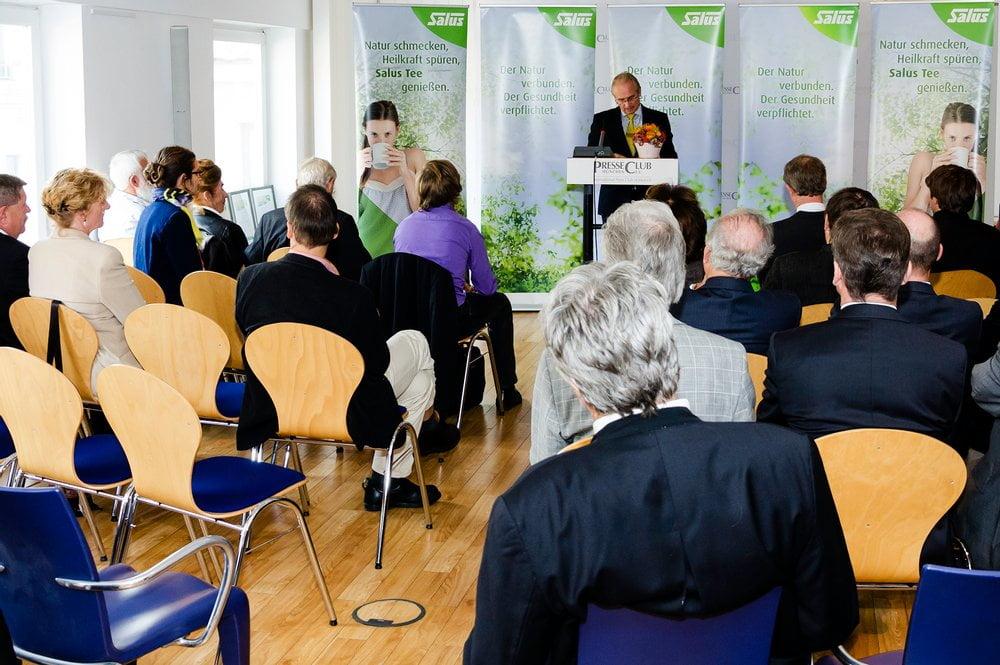 Die Verleihung fand im PresseClub München statt