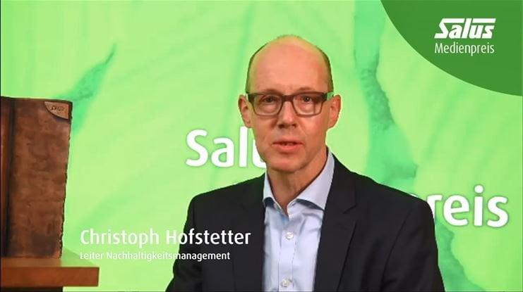 Leiter Nachhaltigkeitsmanagement Christoph Hofstetter