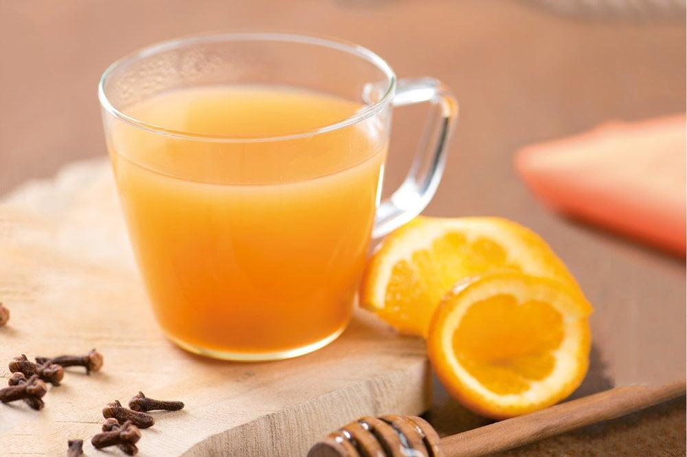 Orangen-Honig-Punsch