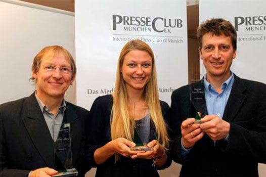 Impressionen der Preisverleihung 2010