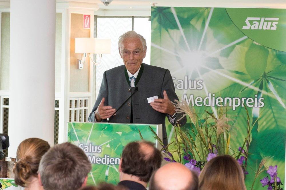 Otto Greither, Stifter des Salus Medienpreises