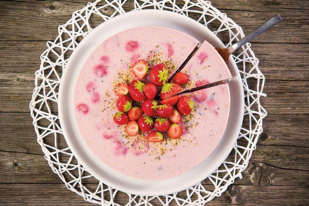Erdbeer Yofukuchen