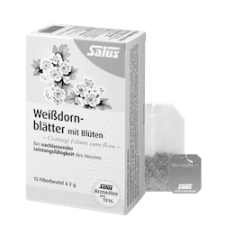 Salus® Weißdornblätter mit Blüten