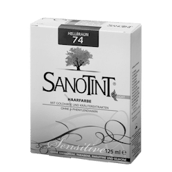 "SANOTINT® Haarfarbe sensitive ""light"" Nr. 74 ""Hellbraun"""