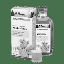 Schoenenberger® Kaktusfeige, Naturreiner Fruchtsaft