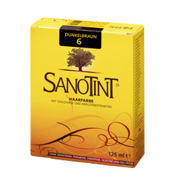 """SANOTINT® Haarfarbe Nr. 06 """"Dunkelbraun"""""""