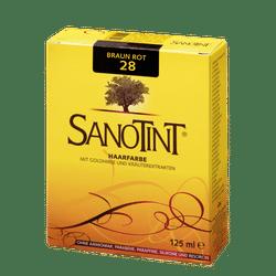 "SANOTINT® Haarfarbe Nr. 28 ""Braun Rot"""