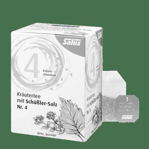 Salus® Kräutertee mit Schüßler-Salz Nr. 4