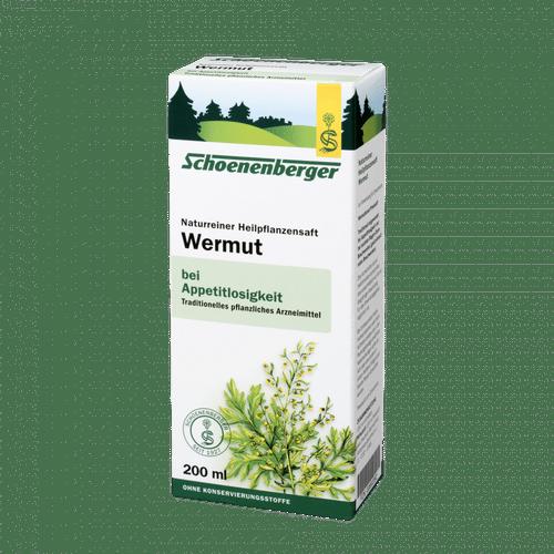 Schoenenberger® Wermut, Naturreiner Heilpflanzensaft