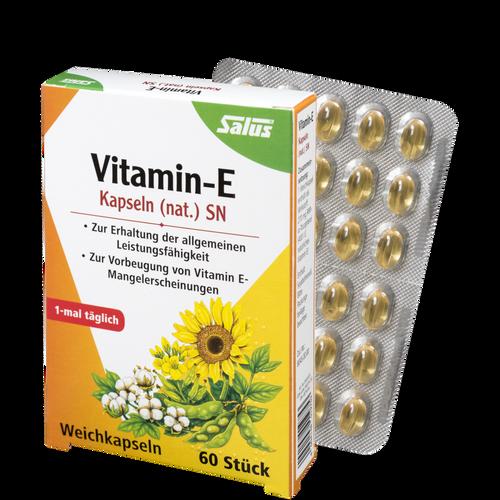 Salus® Vitamin-E Kapseln (nat.) SN