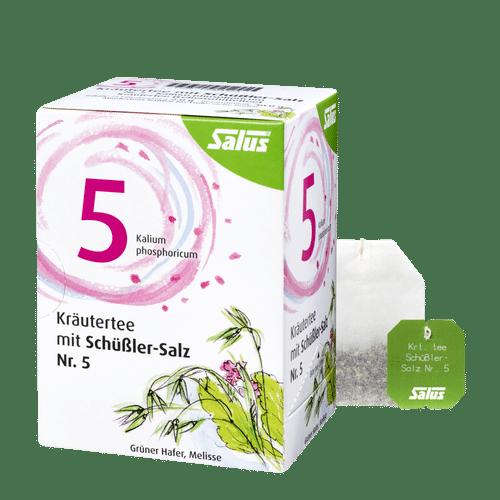 Salus® Kräutertee mit Schüßler-Salz Nr. 5