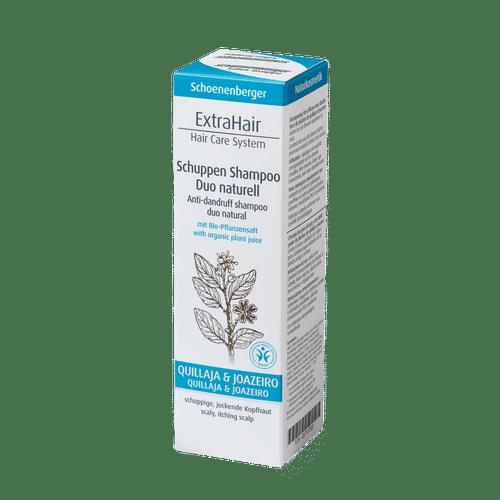 Schoenenberger® Naturkosmetik ExtraHair® Hair Care System Schuppen Shampoo Duo naturell