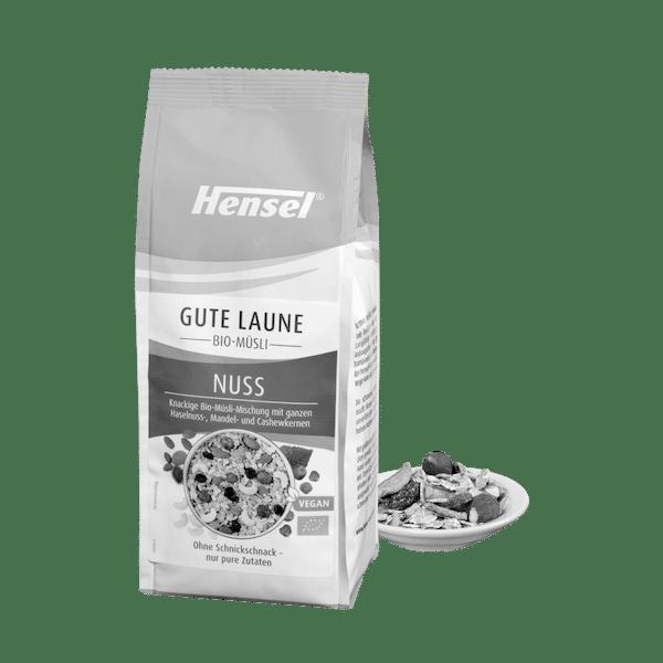 Schoenenberger® Hensel® Gute Laune Bio-Müsli Nuss