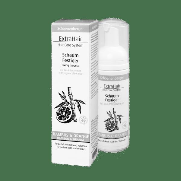 Schoenenberger® Naturkosmetik ExtraHair® Hair Care System Schaum Festiger
