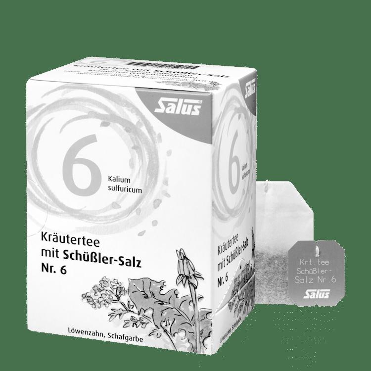 Salus® Kräutertee mit Schüßler-Salz Nr. 6
