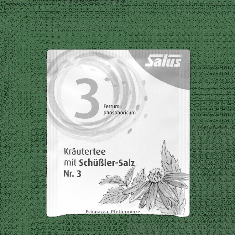 Salus® Kräutertee mit Schüßler-Salz Nr. 3