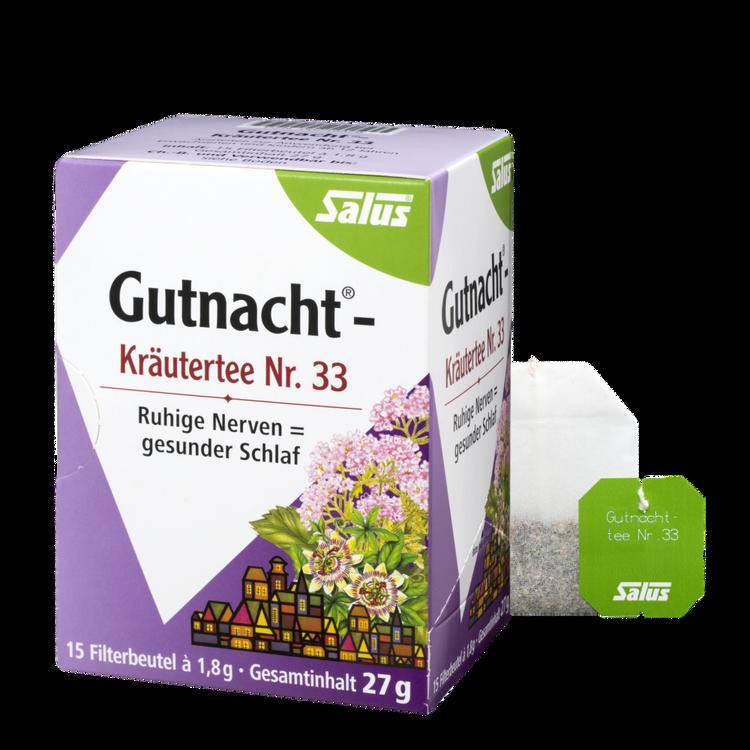 Salus® Gutnacht®-Kräutertee Nr. 33
