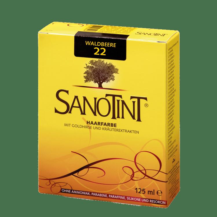 "SANOTINT® Haarfarbe Nr. 22 ""Waldbeere"""