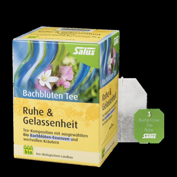 Salus® Bachblüten Tee Ruhe & Gelassenheit
