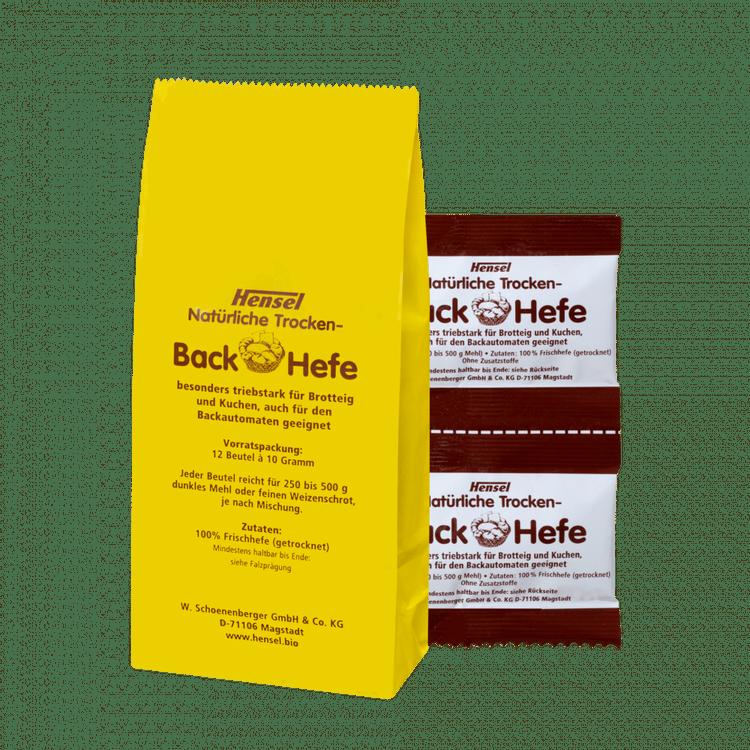 Schoenenberger® Hensel® Natürliche Trocken-Back-Hefe