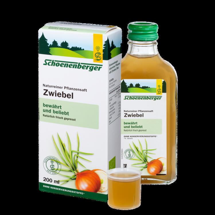 Schoenenberger® Zwiebel, Naturreiner Pflanzensaft
