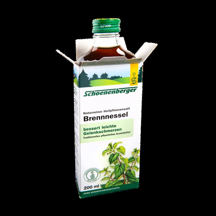 Schoenenberger® Brennnessel, Naturreiner Heilpflanzensaft