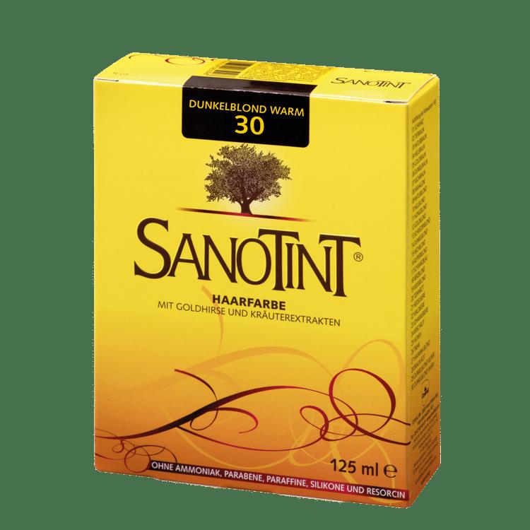 "SANOTINT® Haarfarbe Nr. 30 ""Dunkelblond Warm"""