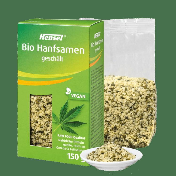Schoenenberger® Hensel® Bio Hanfsamen